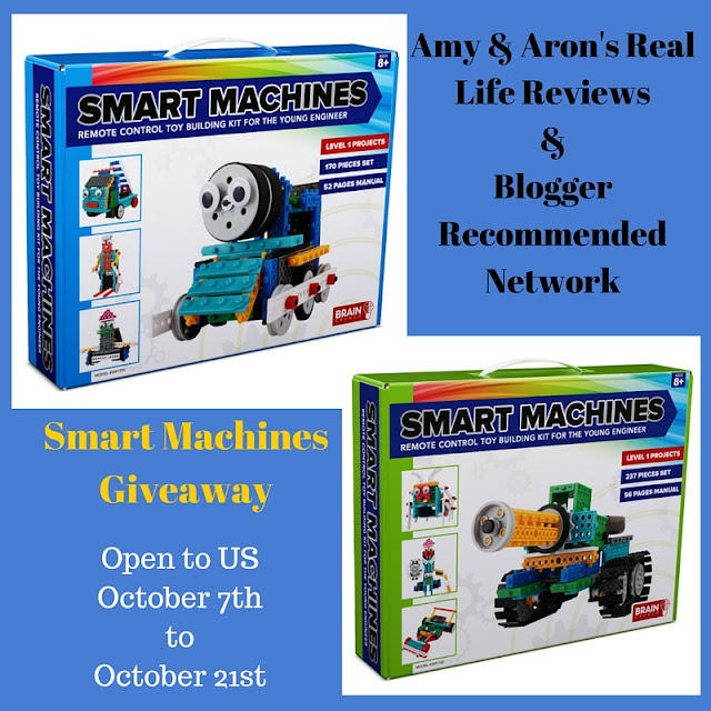 Enter to #Win! Smart Machines #Giveaway Before it Ends 10/21 #smartmachines #braincrunchtoys
