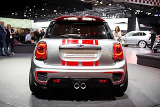 Mini Hardtop John Cooper Works backview