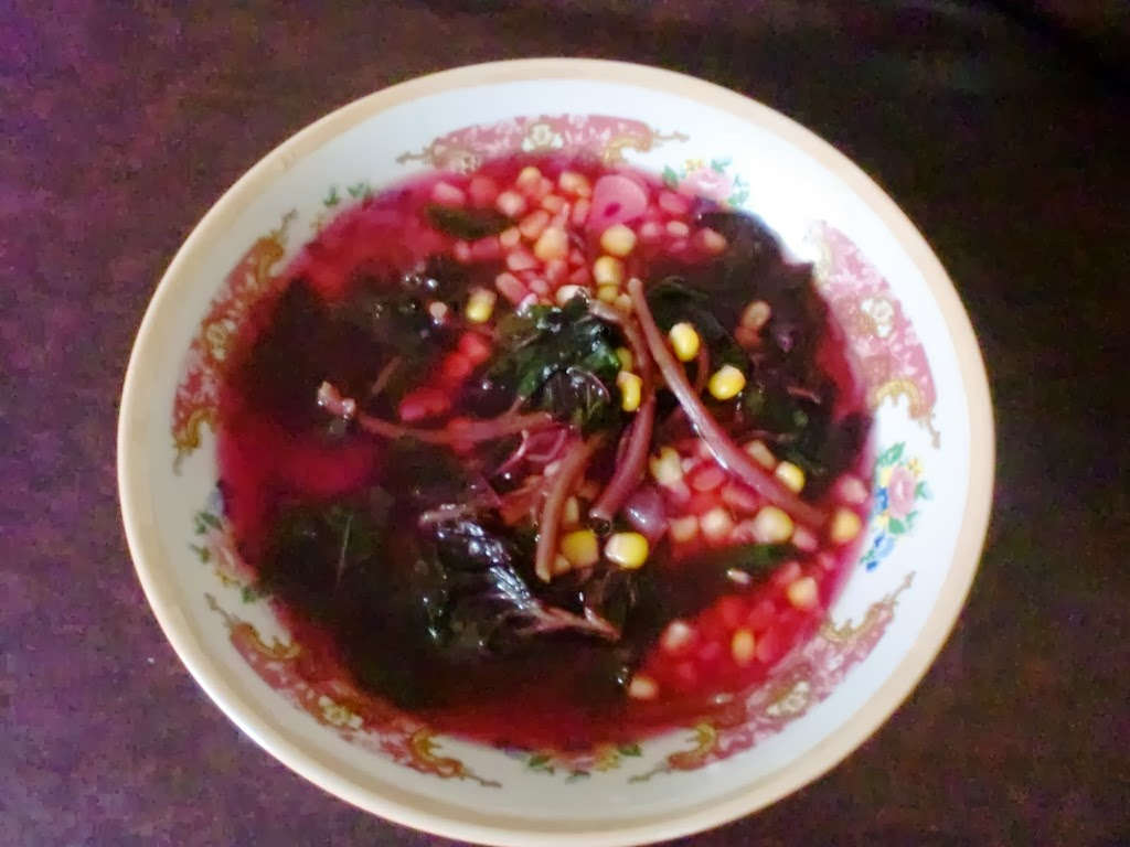 Sayur Bayam Merah