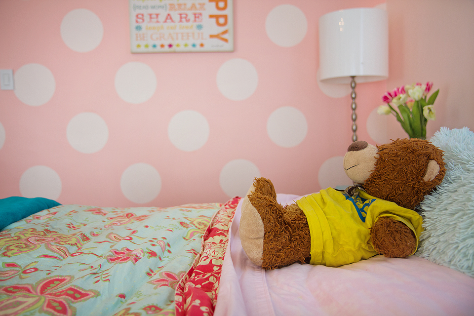Third And Patterson Sweet Pink Polka Dot Room