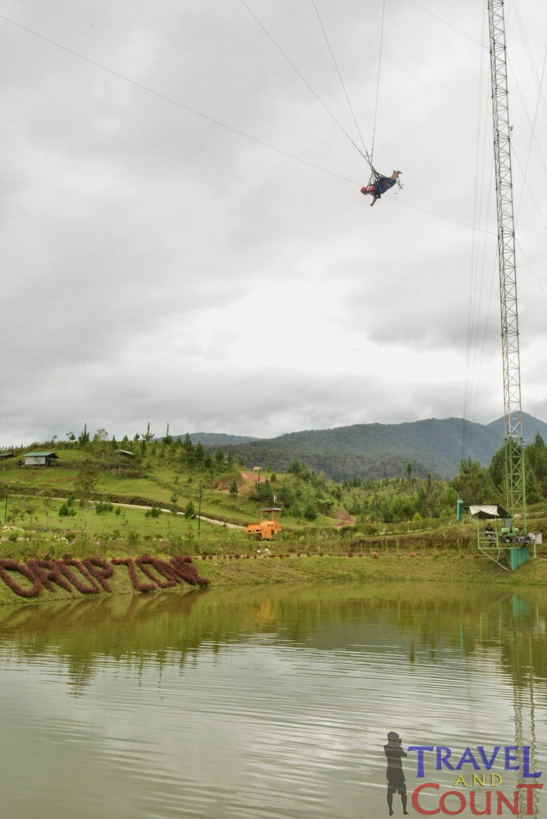 Dropzone in Dahilayan Park Bukidnon