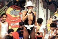 Xuxa no comando do programa 'Clube da Criança'.