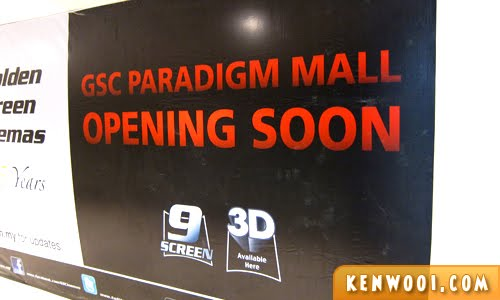 paradigm mall gsc
