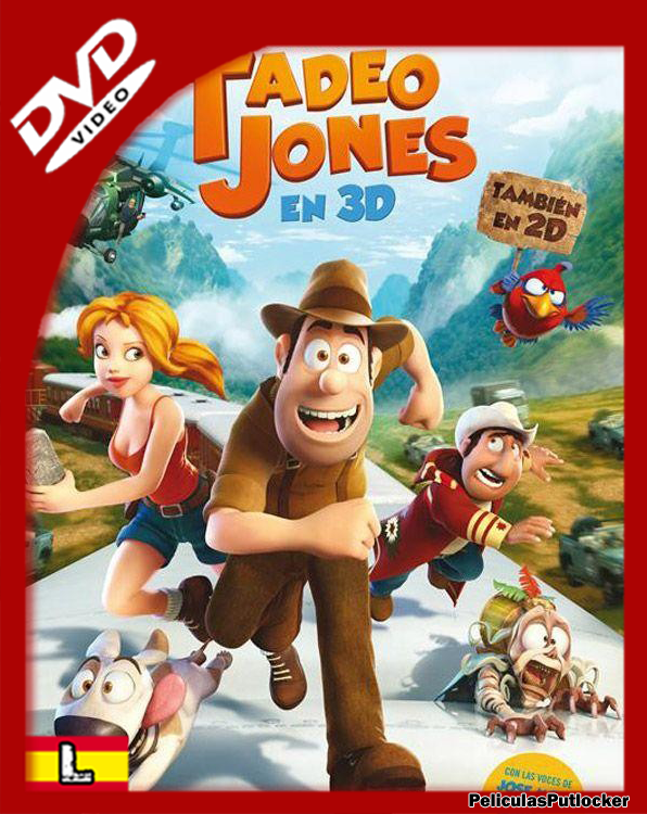 Las Aventuras de Tadeo Jones [DVDRip][Latino][MG-FD-4S]