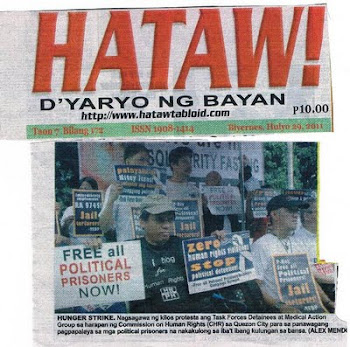 Litrato sa Front Page ng Dyaryo