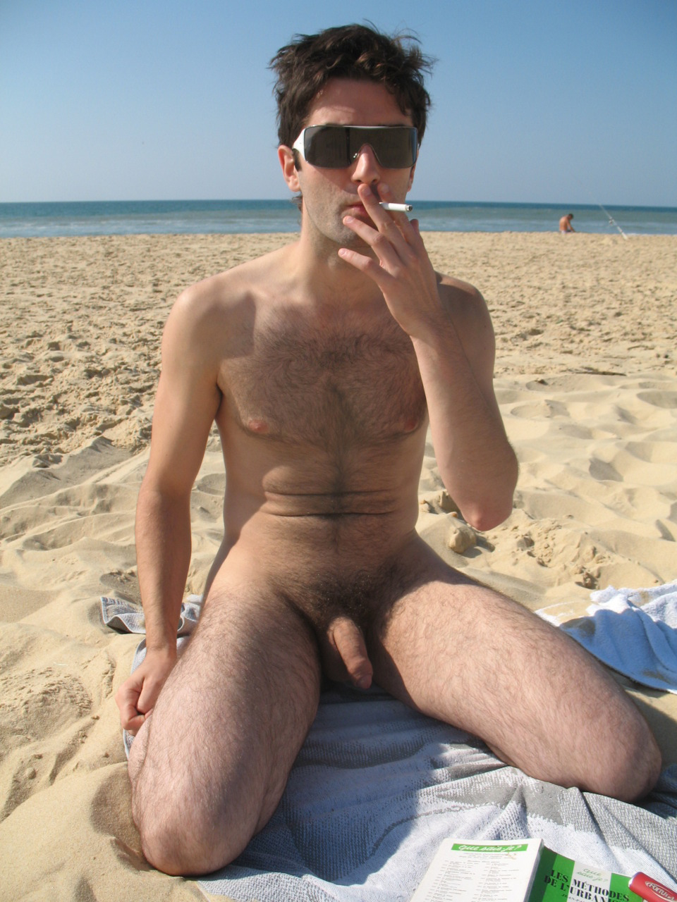 hot naked guys on beach