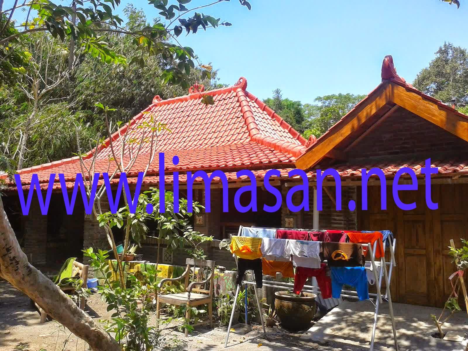 Rumah Limasan Di Sleman Yogyakarta halaman