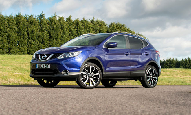 2014 Nissan Qashqai front view