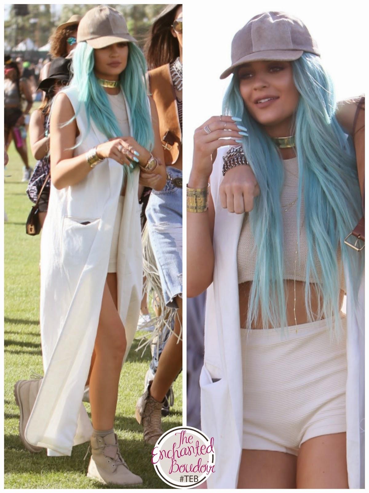 Kylie Jenner Coachella 2015