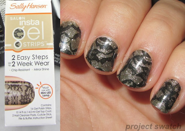 Sally Hansen Insta-gel nail strips - Amazing Lace