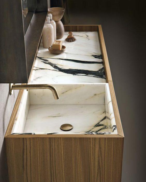la fabrique 224 d233co evier de cuisine marbre bois