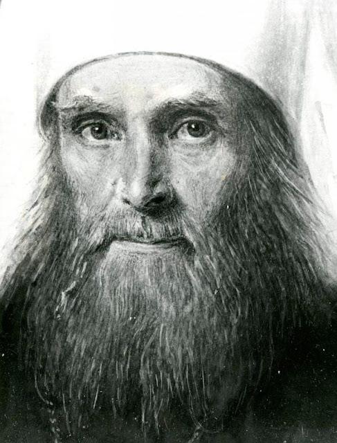 Митрополит Филарет (Дроздов). Из собрания Церковно-археологического кабинета.