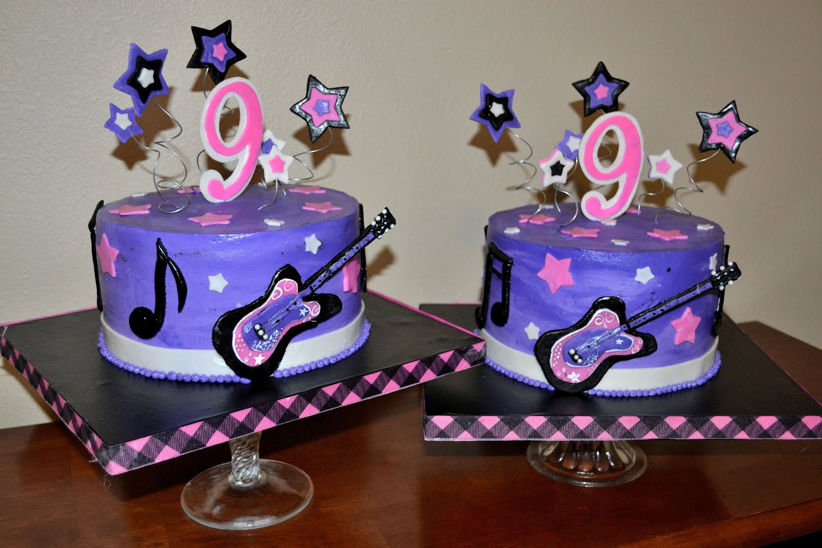 The Shank Family A Rockstar Cake For A Rockstar Birthday Girl