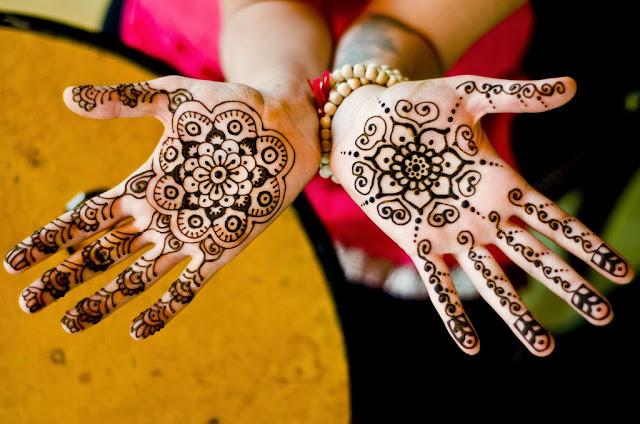 النقش بالحناء على الطريقة الهندية , Henna India