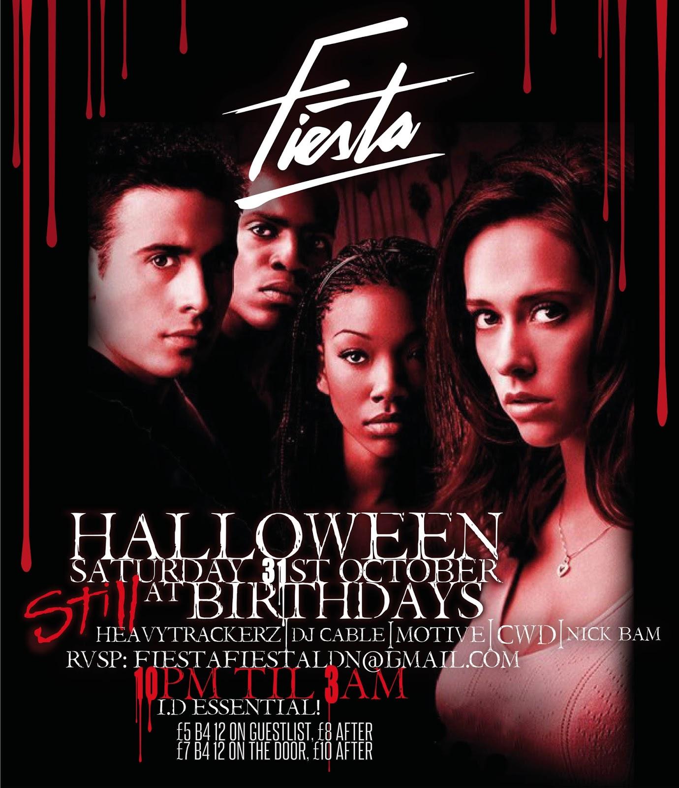 Halloween @ Fiesta w/ Sainsburys