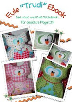 ♥ Eule Trudi Ebook + 10x10 Stickmuster