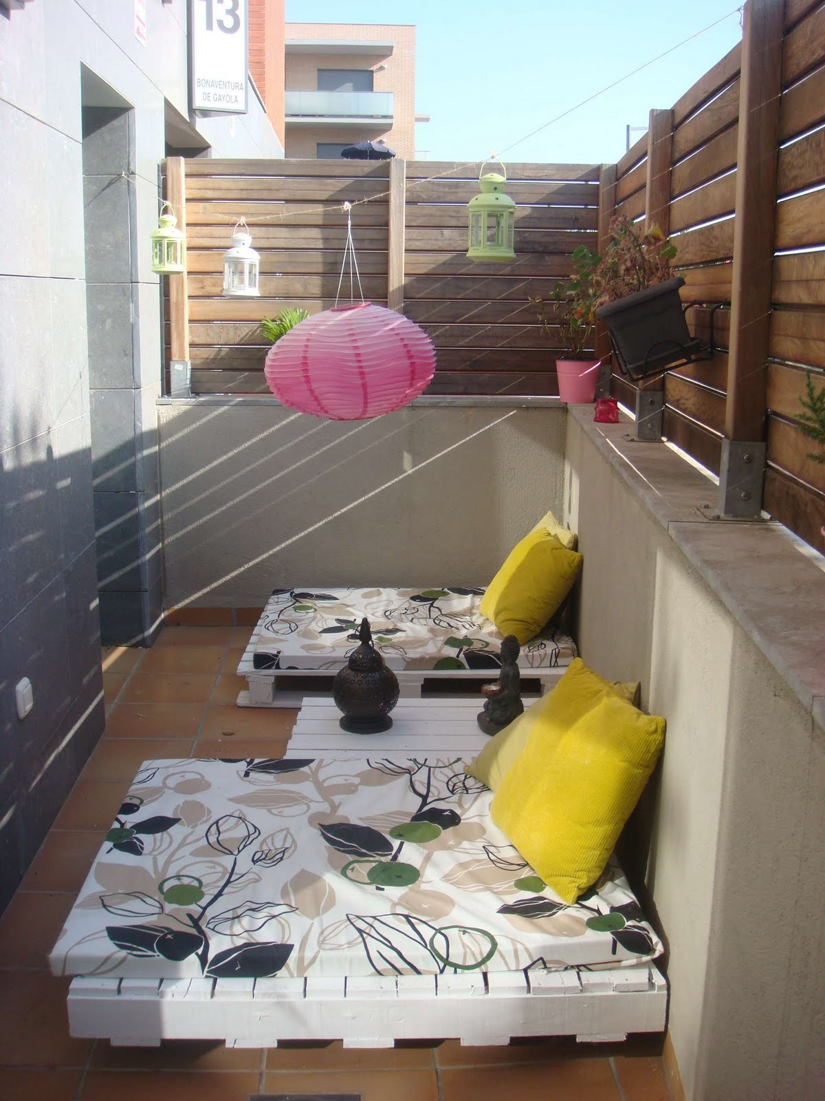La terraza de palets de chill out - Terraza chill out ...