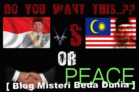 Malaysia vs Indonesia - damai itu indah