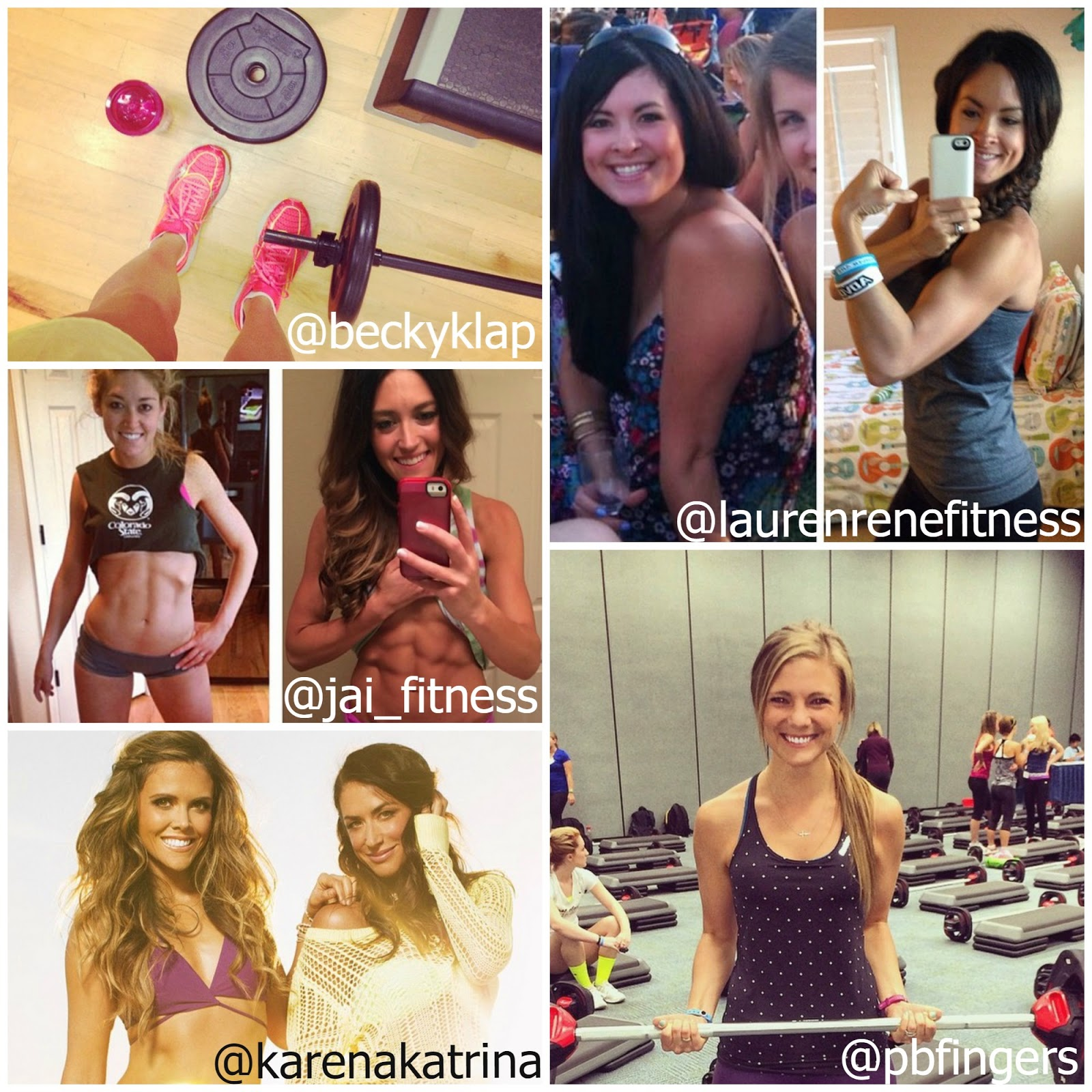 Instagram Fitness accounts