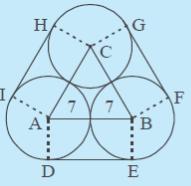 Menentukan Panjang Sabuk Lilitan Minimal Yang Menghubungkan Dua Lingkaran
