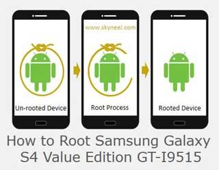 Root Samsung Galaxy S4 Value Edition GT-I9515