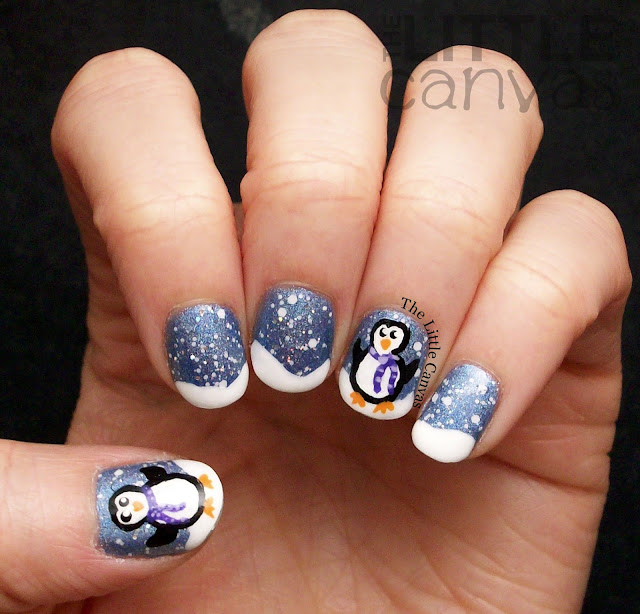 Penguin Nail Art Designs: #ThemedThursdayJan