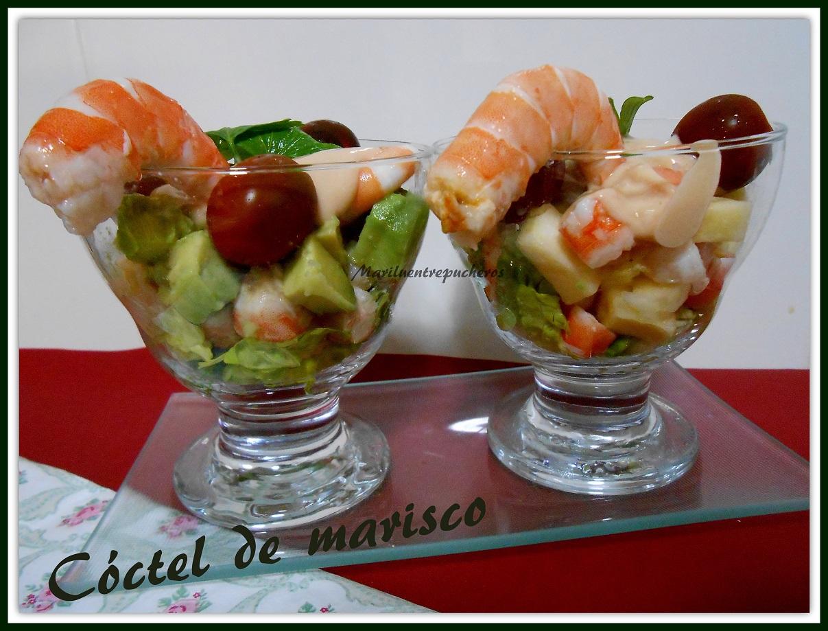 Maril entre pucheros c ctel de marisco - Coctel de marisco ingredientes ...
