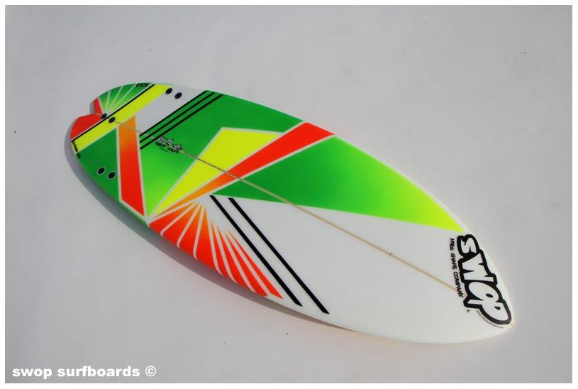 Swop Surfboards Deco