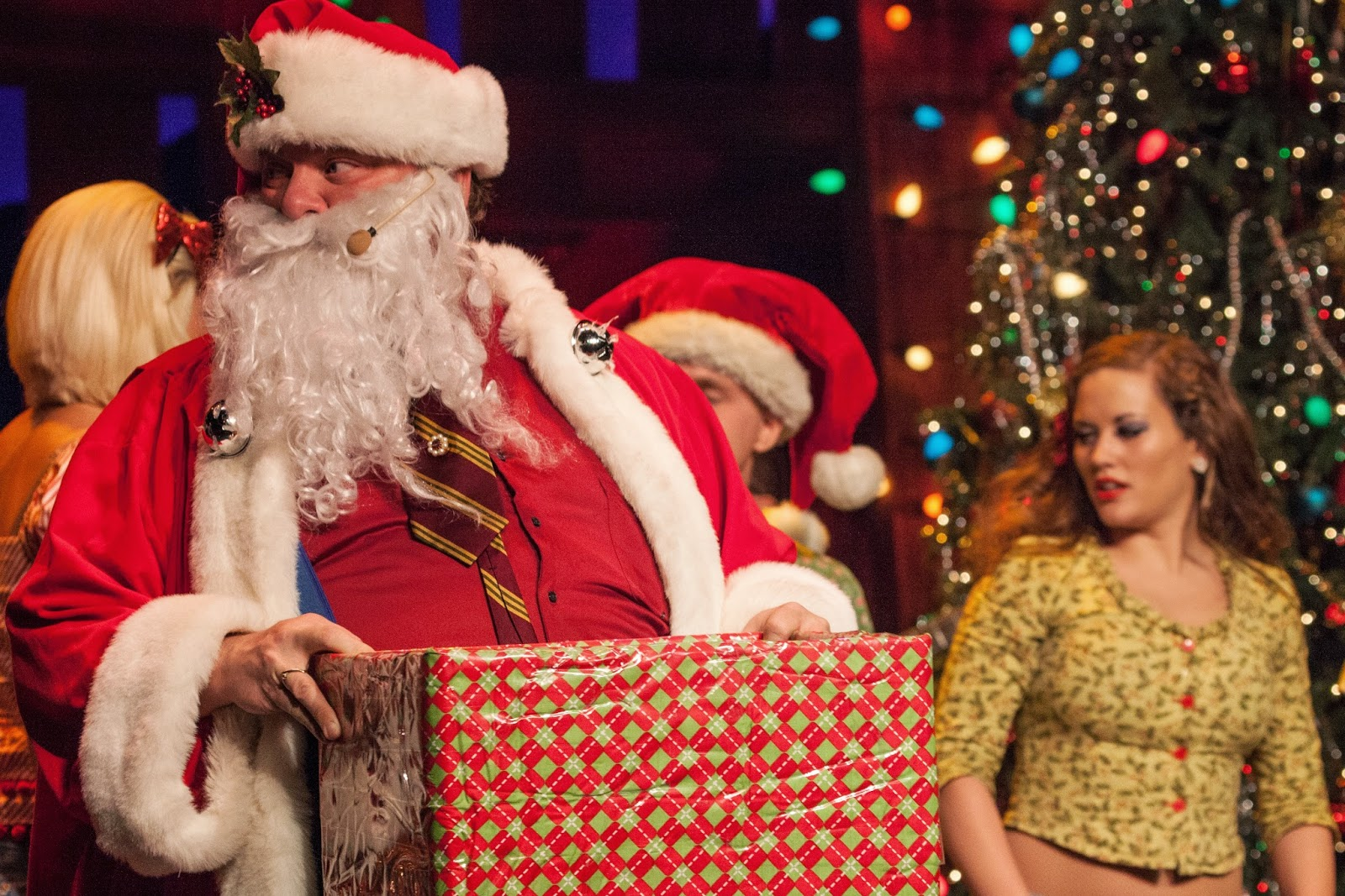 Santa Claus visits Pigeon Forge for Christmas