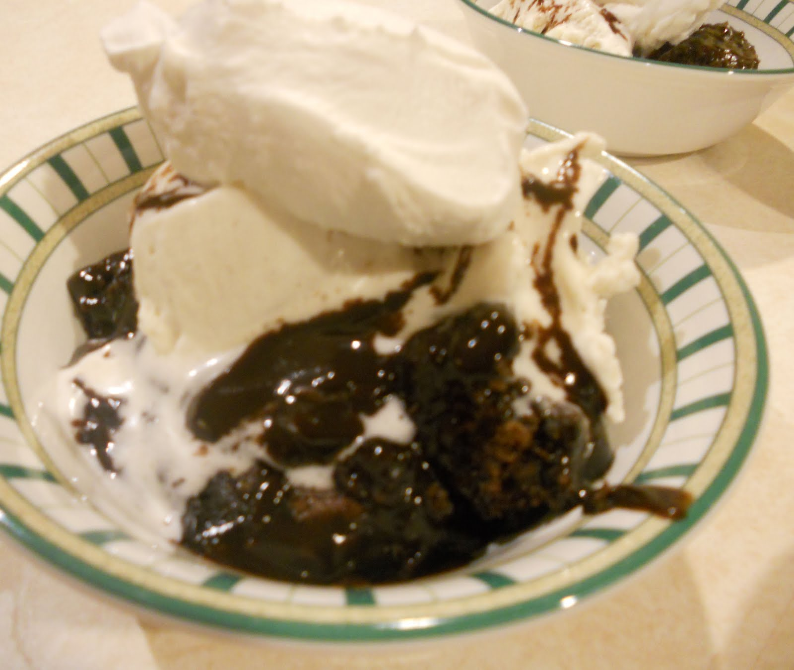 Hot Fudge Pudding Cake - Just One Donna!