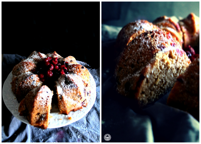 cranberry coconut orange bundt cake 007