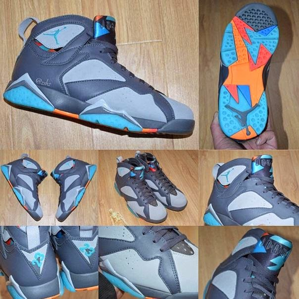 """d55de22900c458 Here is a detailed look at the upcoming 2015 Air Jordan Retro 7 """"Bobcats""""  Sneaker hitting retailers on April 25th for 190 bucks"""