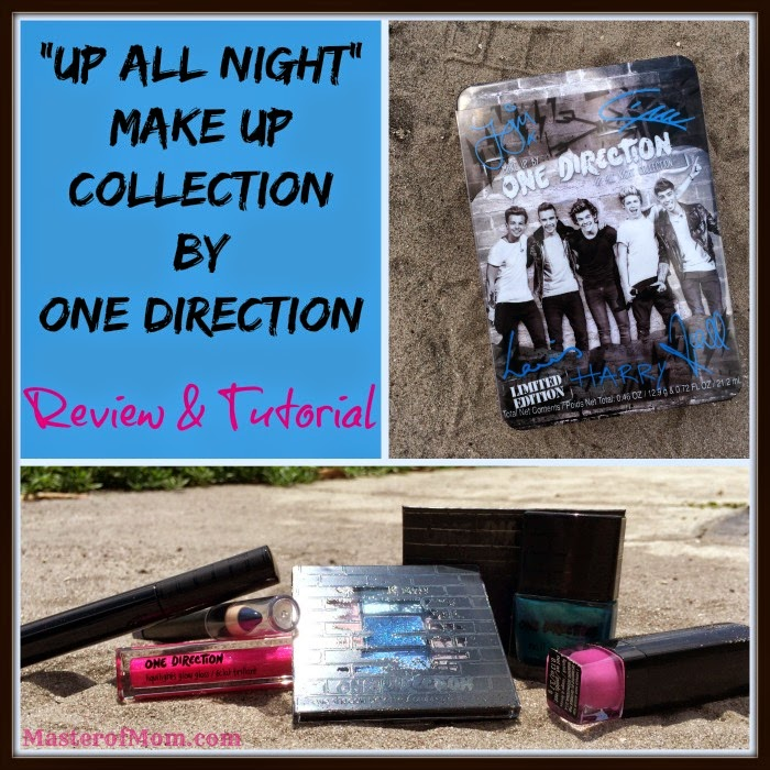 Up All Night Makeup Collection by One Direction Review Tutorial