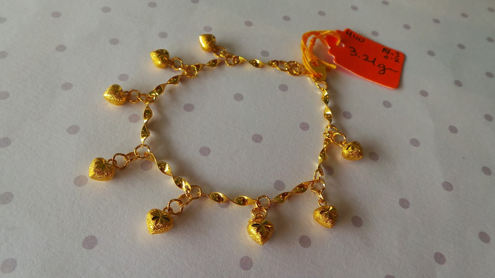 Galerry gambar rantai tangan emas