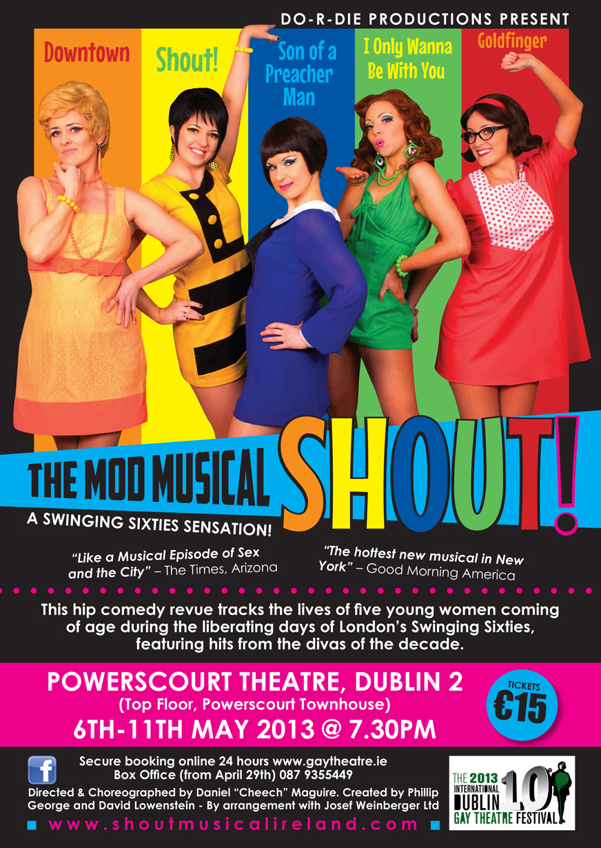Shout the swinging sixties musical
