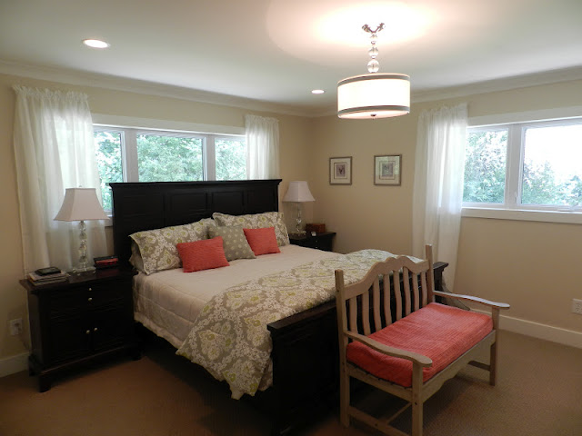 Julie Peterson Simple Redesign Mini Master Bedroom Update