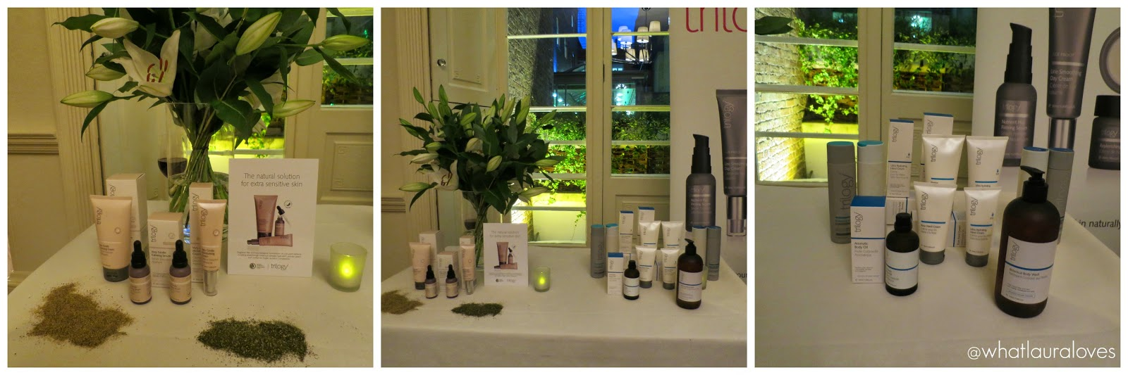 Trilogy Very Gentle Range and Body Care