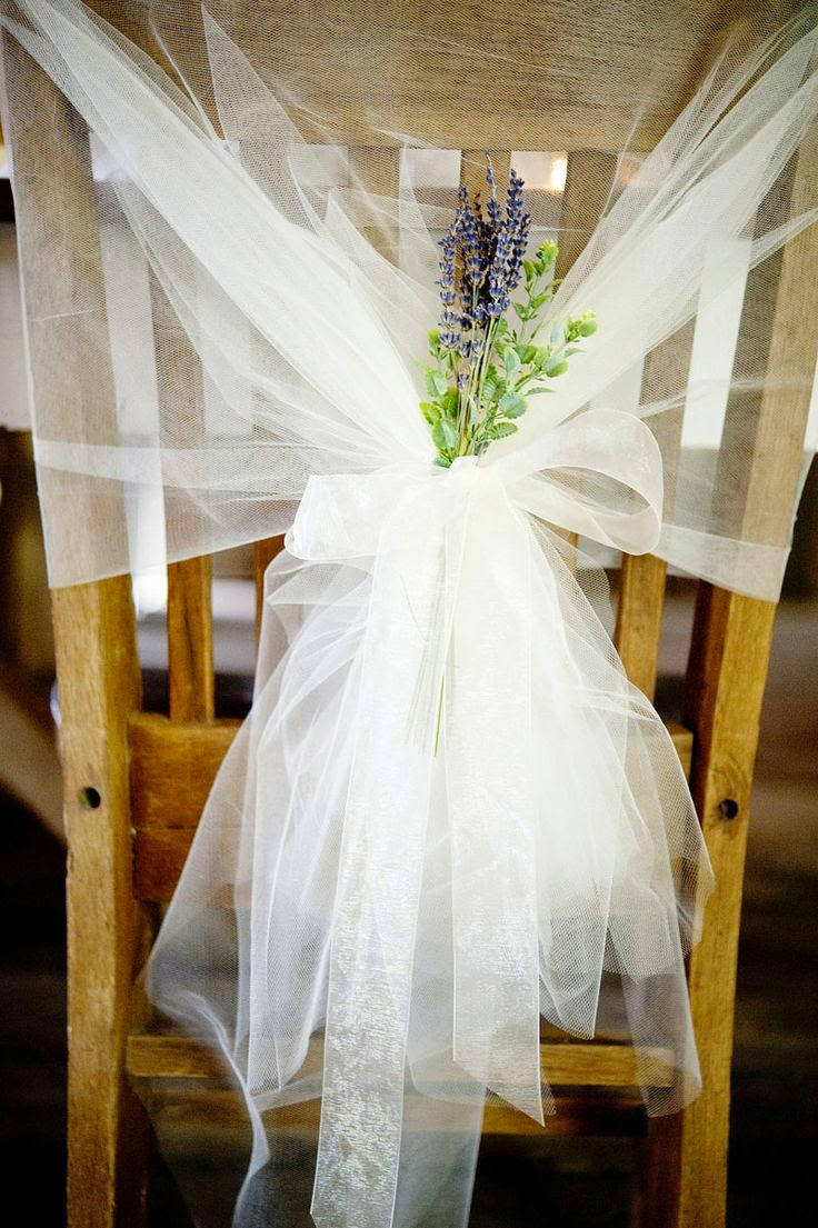 20 Ways to Dress Up Wedding Chairs - Lots of love, Susan