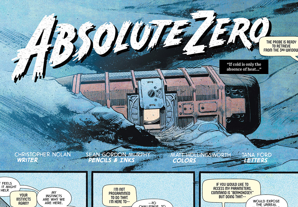 READ Absolute Zero, the Interstellar Prequel Comic