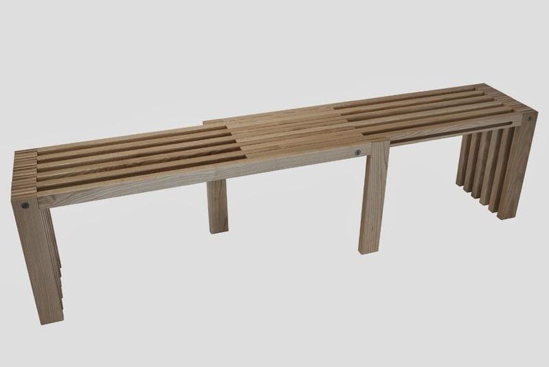 Minimalist Wooden Bench Design AyanaHouse