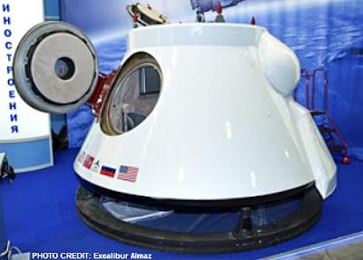 Excalibur Almaz Space Capsule