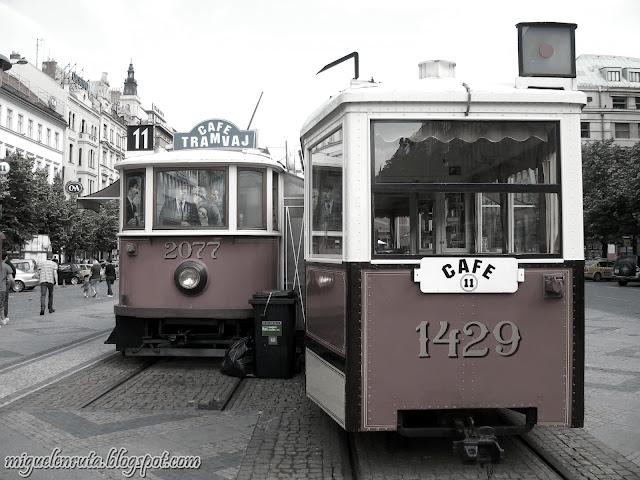 Praga-Tranvía