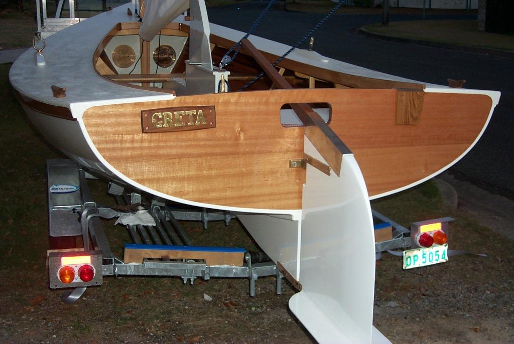 Instant Boats Phil Bolger : Ross lillistone wooden boats building phil bolger s harbinger