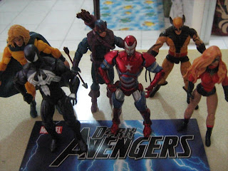 Dark Avengers Marvel Universe Iron Patriot Norman Osborne Green Goblin Bullseye Hawkeye Venom Spider-man Sentry Void Robert Reynolds Ms Marvel Moonstone Daken Wolverine