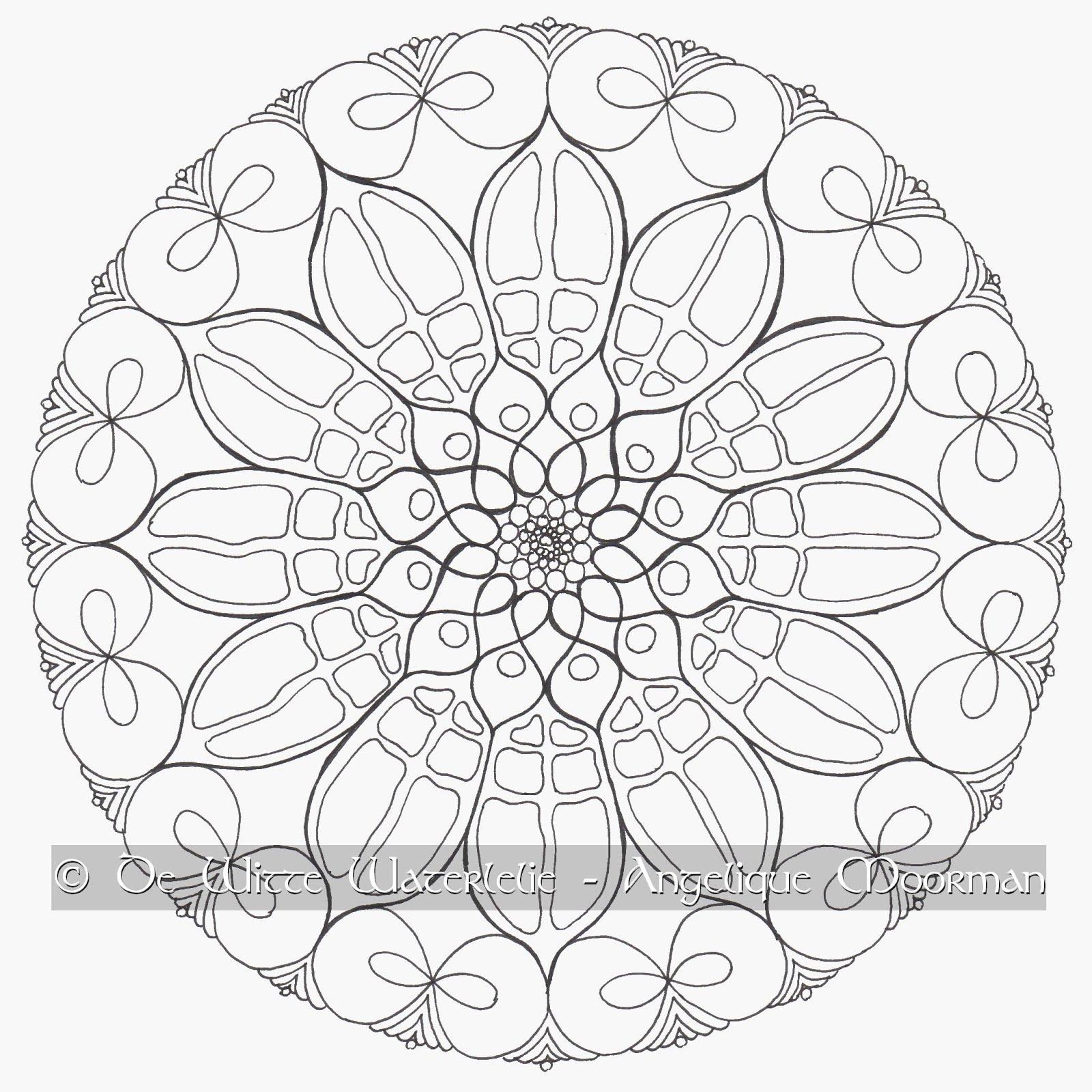 Mandala Atelier: Workshops BEGINSELEN VAN HET MANDALA TEKENEN