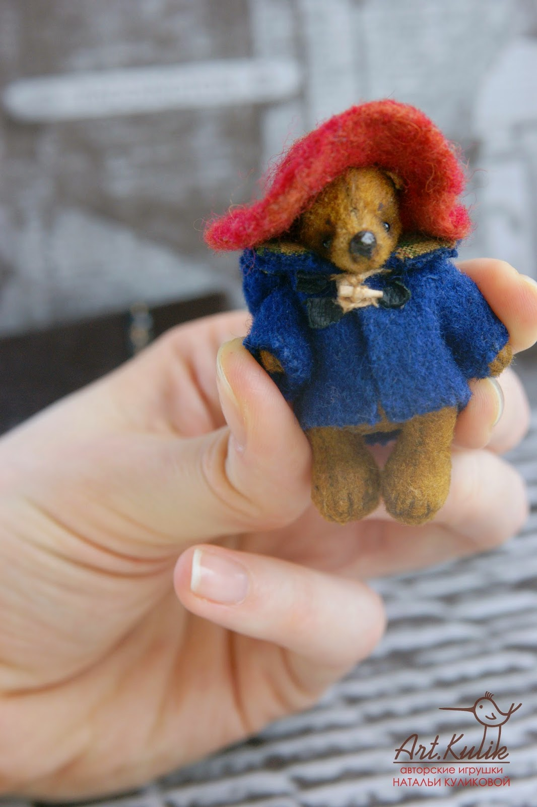 Paddington  teddy