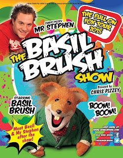 Basil Brush live