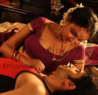 Tamil Movie Anagarigam Hot Bedroom Scene Pics