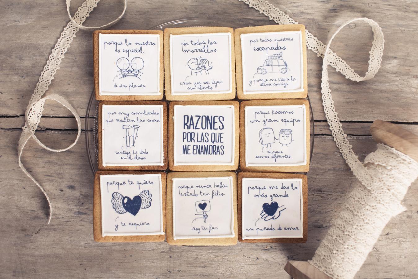 Blog mi boda mr wonderful sortea las galletas amorosas - Ideas regalos manuales ...