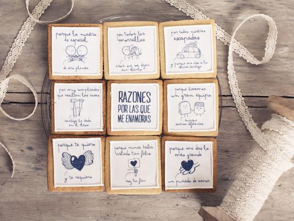 Mr.Wonderful sortea las galletas amorosas más molonas